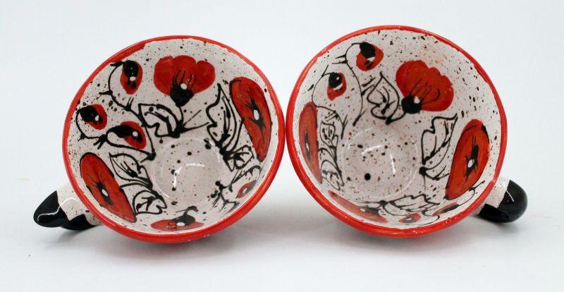 Handcrafted pottery mug (25)