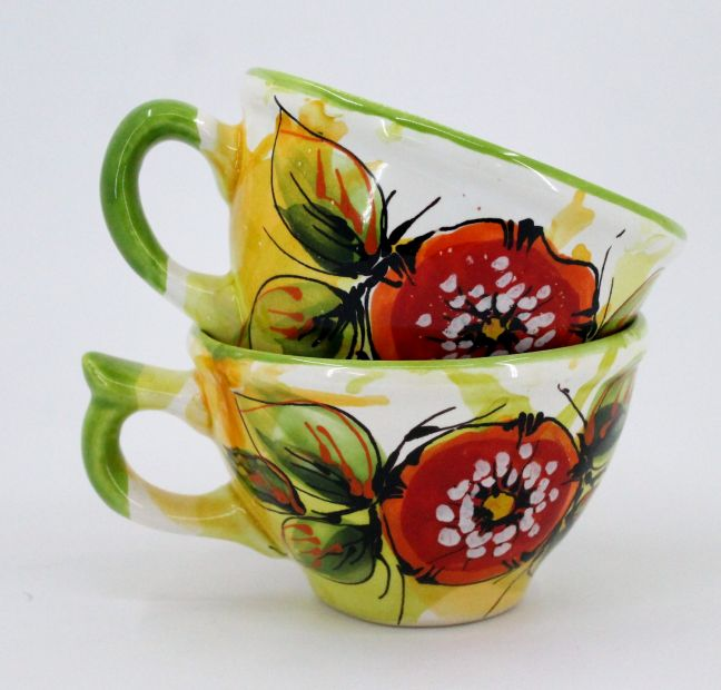 Handmade stoneware mug (47)