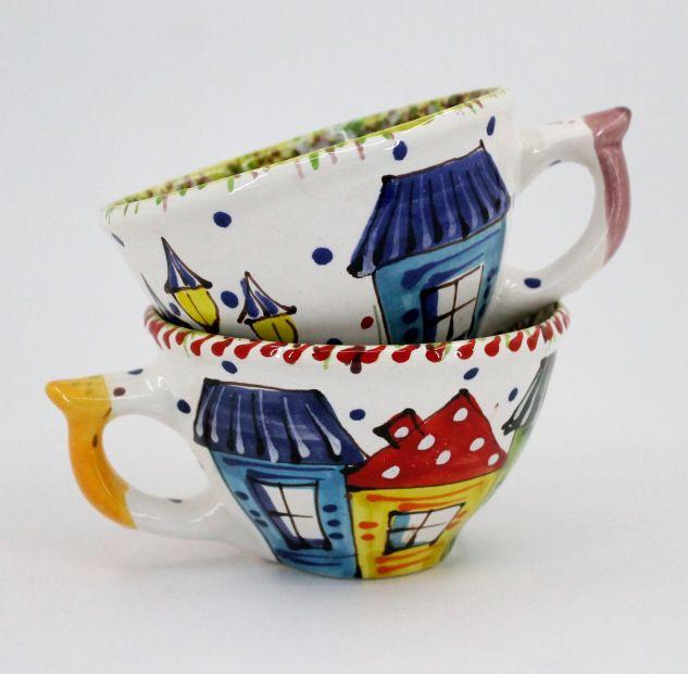 Handcrafted pottery mug (09)