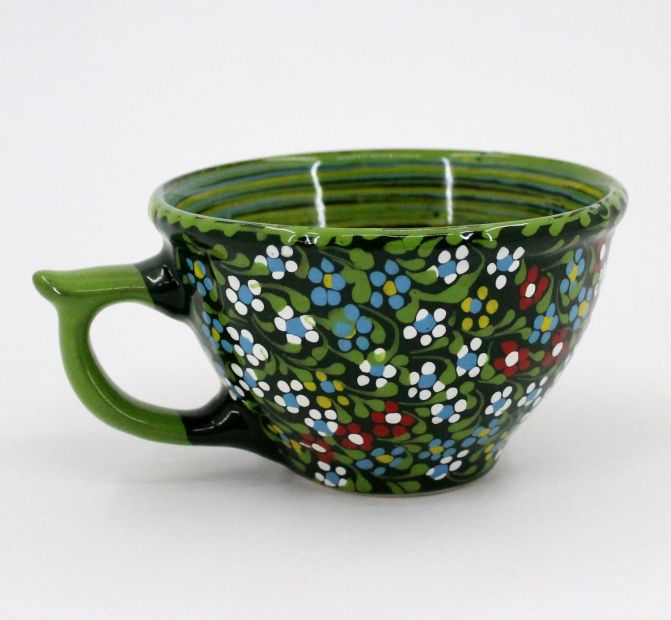 Handmade stoneware mug (17)