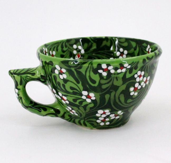 Handmade stoneware mug (39)