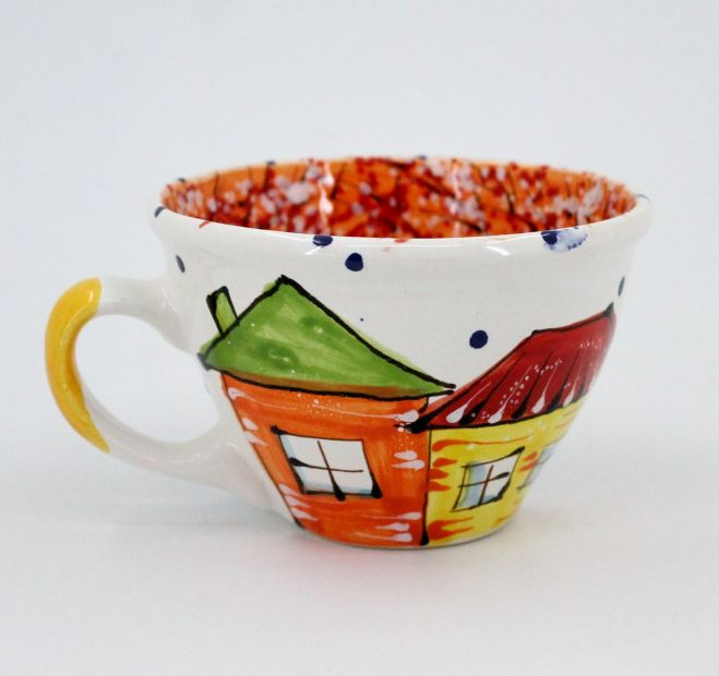 Handmade stoneware mug (04)