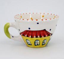 Handmade stoneware mug (08)