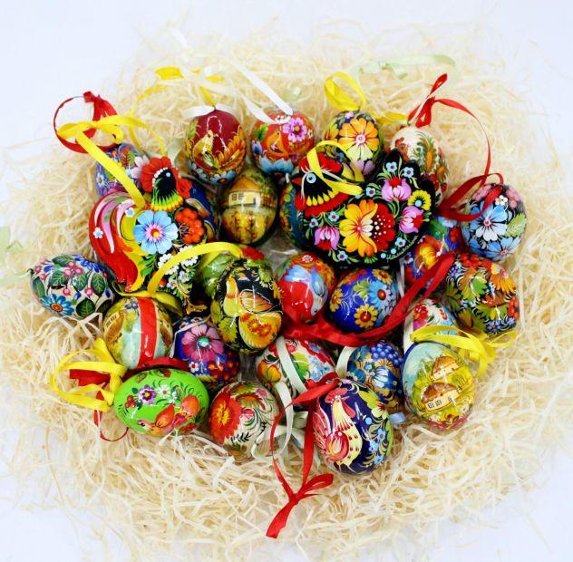 Wooden Easter egg pysanka (34)