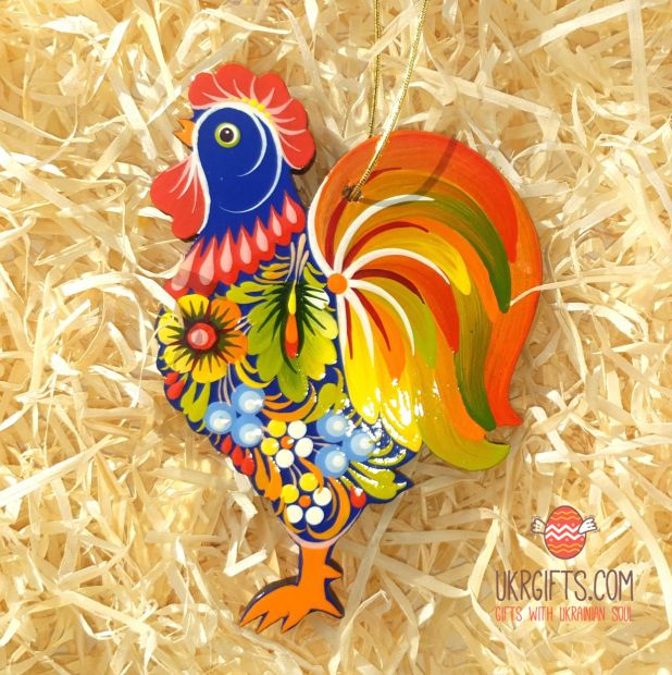 Rooster ornament, easter decoration