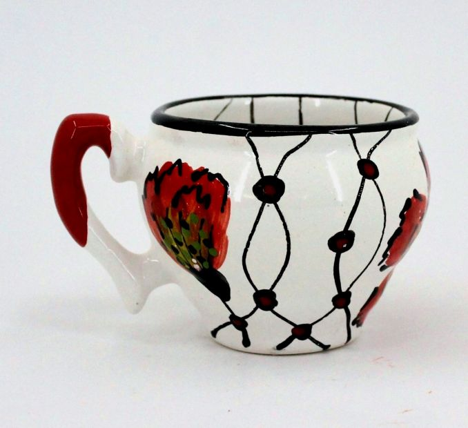Handmade stoneware mug (80)