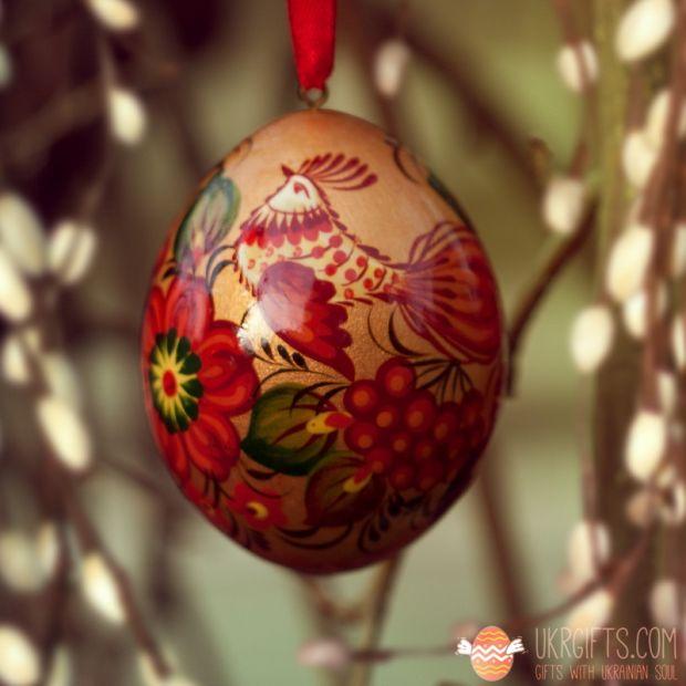 Wooden Easter egg pysanka (32)