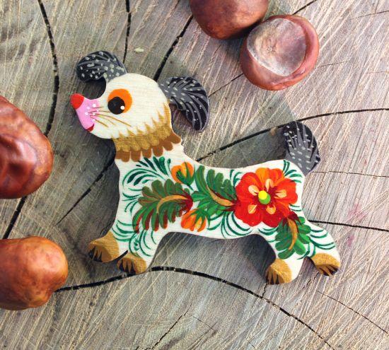 Creative fridge decorative magnet, dog lovers gift