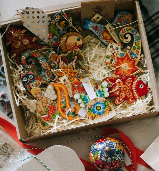Überraschung - Weihnachtsschmuck-Set - 10 Stück