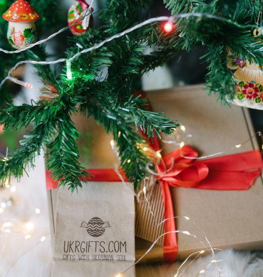 Surprise box - Christmas decoration set - 25 pieces