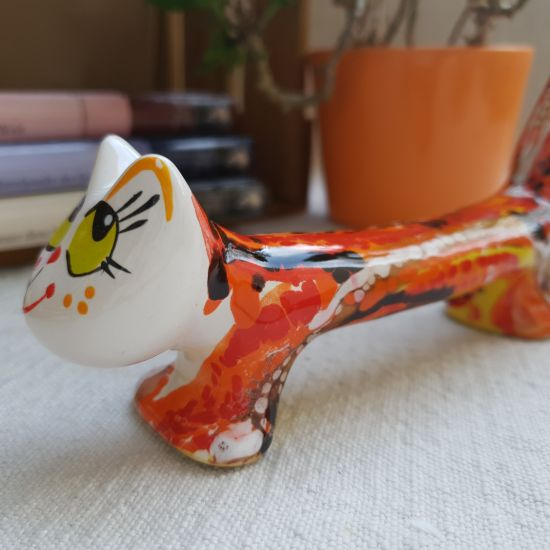 Cat ceramic gift - cat-boy