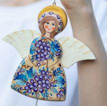 Hampelmann Engel ukrainischer Handarbeit