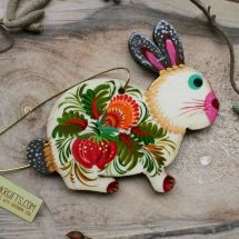 Bunny  Easter ornaments - tree decorations