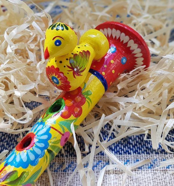 Musical toy Instruments, wooden flute for children, handmade