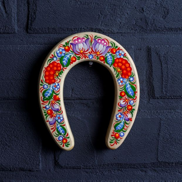 Decorative horseshoe - home lucky charm