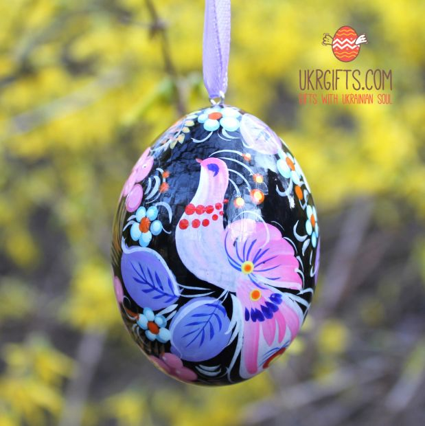 Wooden Easter egg  pysanka