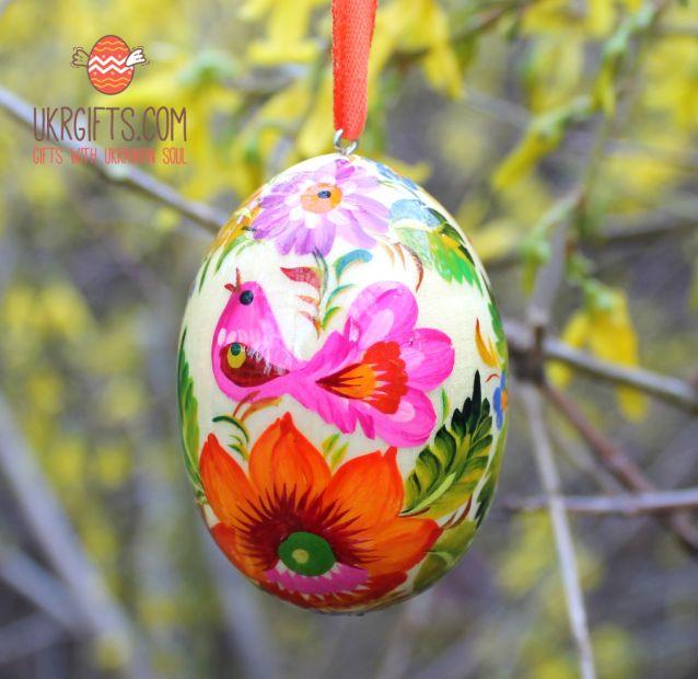 Wooden Easter egg  pysanka  (41)