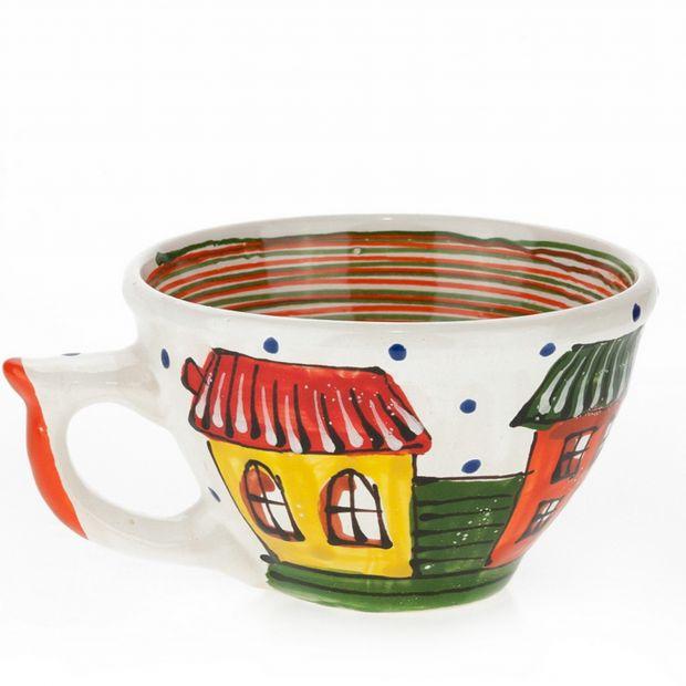 """Kaffeetasse aus Keramik """"Altstadt"""""""