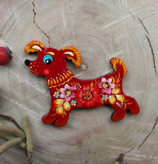 Creative fridge magnet and souvenir, dog lovers gift