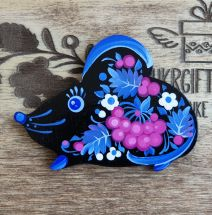 """Creative fridge magnet """"Mouse"""", mouse lovers gift"""