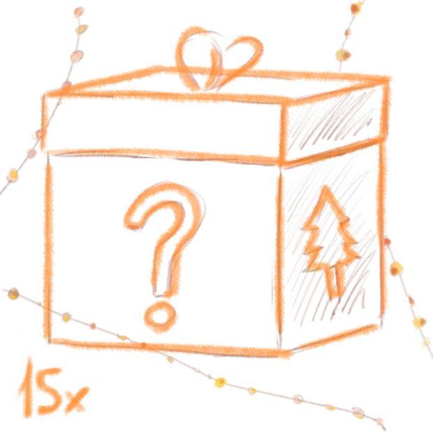 Überraschung - Weihnachtsschmuck-Set - 15 Stück