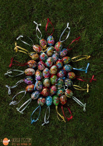Wooden Easter egg pysanka (10)