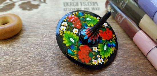 Traditioneller Hölzerner Kreisel, öko Spielzeug für Kinder