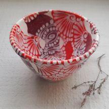 Сeramic cup unusual painted