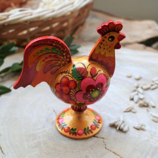 Goldener Hahn - Osterdekoration - Ukrainische Handwerkskunst