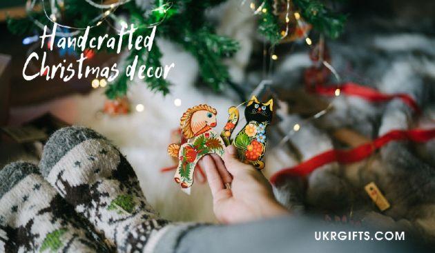 Hand painted ukrainian ornaments