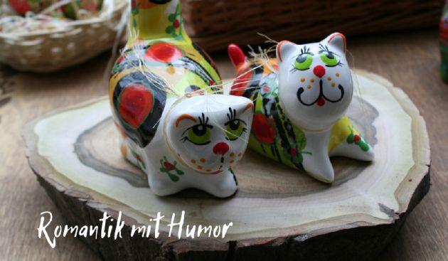 Katze Keramic Dekoration UkrGifts