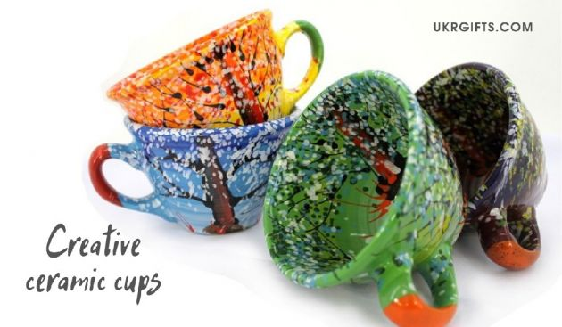 ceramic cups creative hand painted