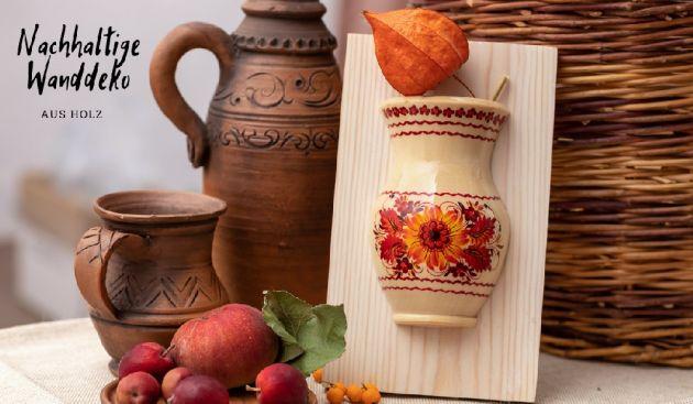Essenzimmer Wanddekorations - Ukrainisches Kunsthandwerk